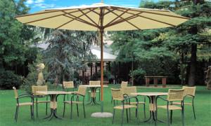 Выносной зонт для кафе