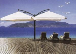 Зонт для кафе Одесса