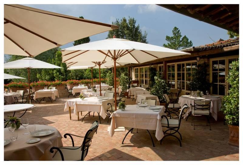 Консольный зонт для отеля